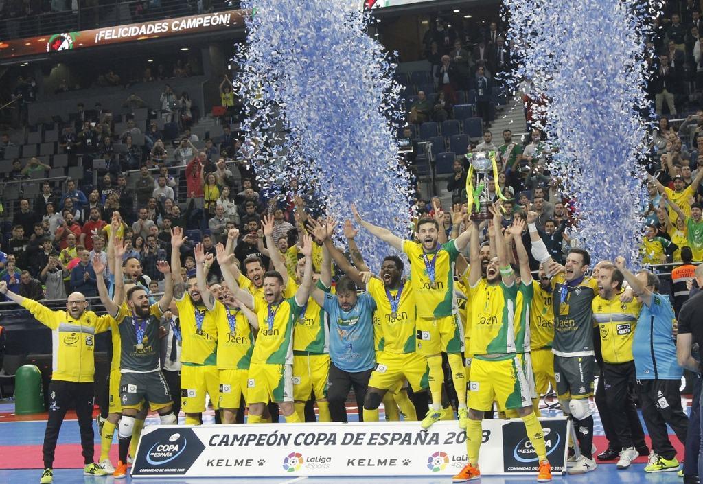 Jaén FS, campeón de Copa del España en 2018