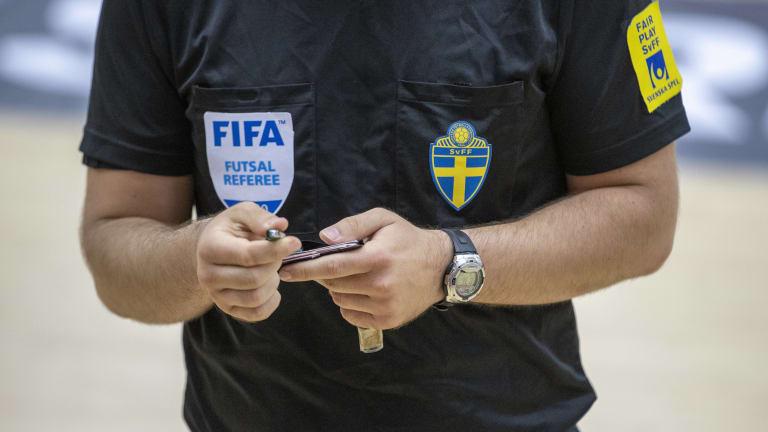 Árbitro de la FIFA para el Mundial de Fútbol Sala